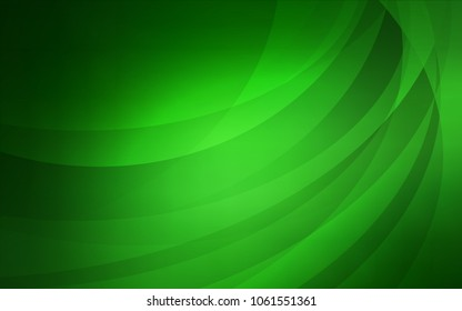 Light Green vector template with bubble shapes. Colorful illustration in abstract marble style with gradient. The best blurred design for your business.