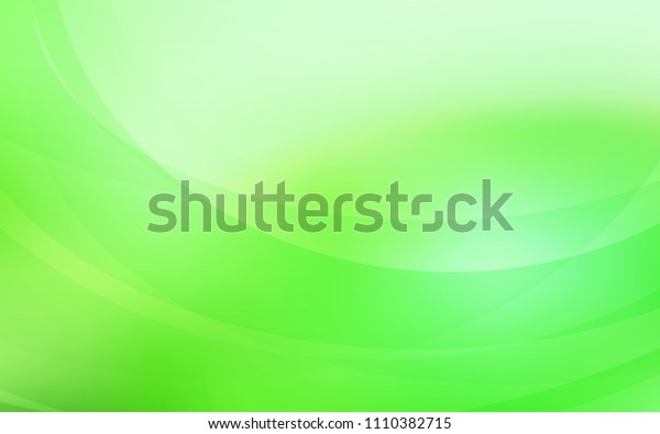 Light Green vector template with bubble shapes. A completely new color illustration in marble style. Marble style for your business design.