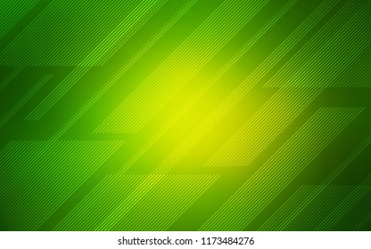 Light Green vector template with repeated sticks. Blurred decorative design in simple style with lines. Pattern for ads, posters, banners.