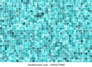Light Green vector texture in rectangular style. Glitter abstract illustration with rectangular shapes. Pattern for busines ad, booklets, leaflets