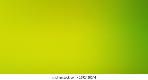 Light Green, Yellow vector abstract bright texture. Abstract illustration with gradient blur design. Smart design for your apps.