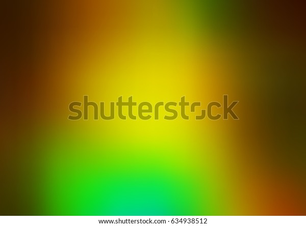 Light Green, Yellow vector abstract template. Creative illustration in halftone style with gradient. The textured pattern can be used for background.
