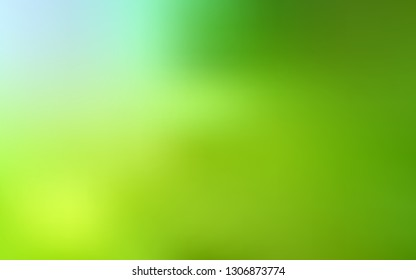 Light Green, Yellow vector blurred bright texture. Colorful illustration in abstract style with gradient. New design for your business.