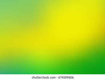 Light Green, Yellow vector glossy abstract background. Shining colored illustration in a brand-new style. A new texture for your design.