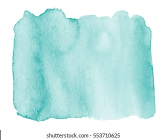 Light Greenish Blue Watercolor Background