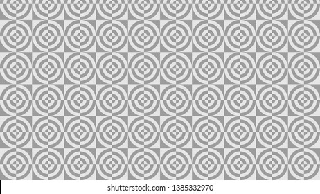 Light Grey Quarter Circles Background Pattern