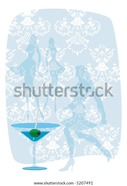 Light hen party background