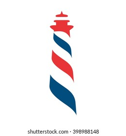 light house logo vector.