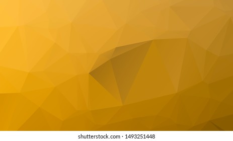 Light luxury Gold vector polygon abstract layout , Low Poly Background . vector blurry triangle texture. Brand new colorful illustration in with gradient. Brand new style for your business design.