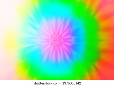 Light Multicolor, Rainbow vector abstract background. Glitter abstract illustration with an elegant design. Brand new design for your business.