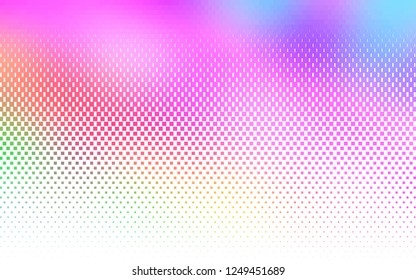 Light Multicolor, Rainbow vector background with rectangles. Modern abstract illustration with colorful rectangles. Pattern for busines ad, booklets, leaflets