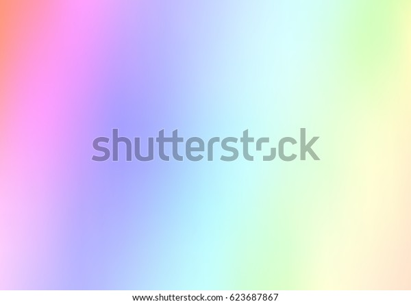 Light Multicolor, Rainbow vector blurry bright background. Shine colored background in brand-new style with gradient.