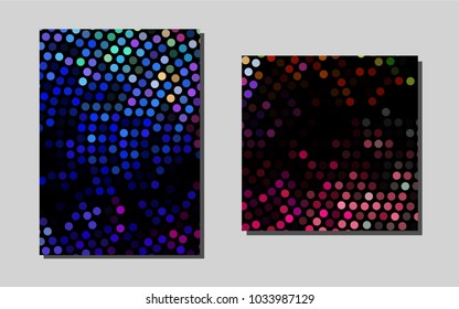 Light Multicolor, Rainbowvector cover for Envelopes. Blurred decorative design in abstract style with textbox. New design for a poster, banner of your website.