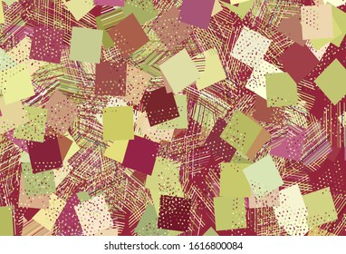 Light Multicolor vector background with triangles, circles, cubes. Illustration with colorful circles, triangles, rectangles. Pattern for booklets, leaflets
