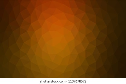 Light Multicolor vector polygon abstract background. Geometric illustration in Origami style with gradient.  Best triangular design for your business.