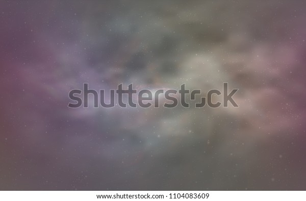 Light Multicolor vector template with space stars. Shining colored illustration with bright astronomical stars. Pattern for astronomy websites.