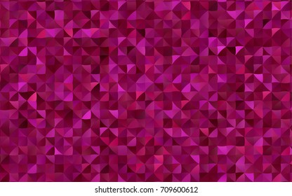 Light Orange vector abstract polygonal background. Modern geometrical abstract illustration with gradient. A completely new template for your business design.