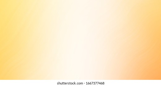 Light Orange vector backdrop with bent lines. Abstract illustration with gradient bows. Pattern for ads, commercials.
