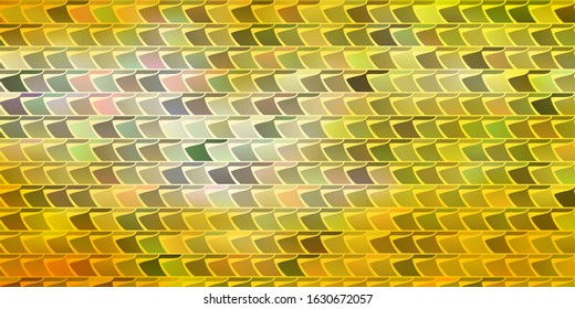 Light Orange vector backdrop with rectangles. New abstract illustration with rectangular shapes. Pattern for busines booklets, leaflets