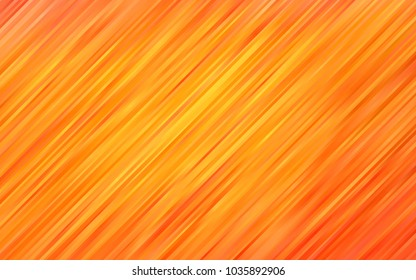 Light Orange vector background with curved circles. An elegant bright illustration with gradient. A completely new template for your business design.