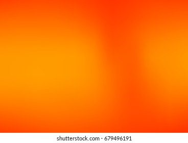 Light Orange vector blurred colored illustration. Brand-new design for your business. Creative background in halftone style with gradient.