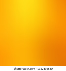 Light Orange vector blurred colorful pattern. Elegant bright illustration with gradient. Background for cell phones.