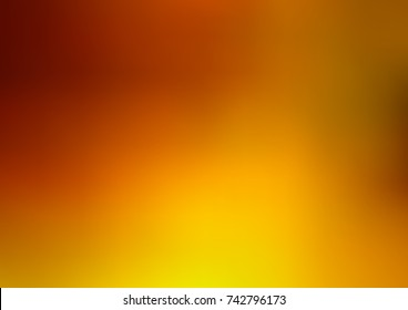 Light Orange vector blurred shine abstract background. Colorful illustration in abstract style with gradient. The best blurred design for your business.