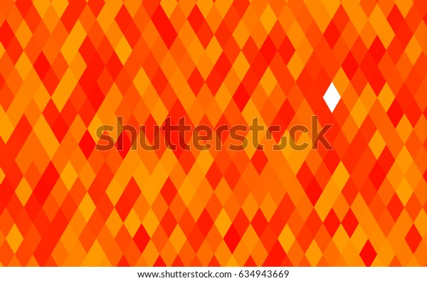 Light Orange vector blurry triangle background. Brand-new colored illustration in blurry style with gradient. The template can be used as a background for cell phones.