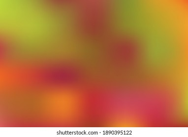 Light Orange vector colorful abstract texture. A completely new colored illustration in blur style. New way of your design.