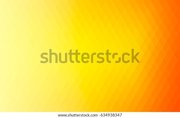 Light Orange vector modern geometrical background. Abstract template. Geometric pattern in square style with gradient.