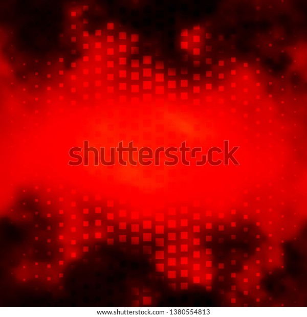 Light Orange vector pattern in square style. Abstract gradient illustration with colorful rectangles. Best design for your ad, poster, banner.