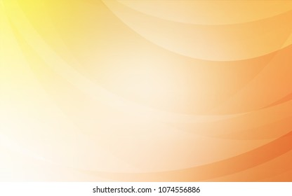 Light Orange vector template with abstract circles. Creative geometric illustration in marble style with gradient. Marble style for your business design.