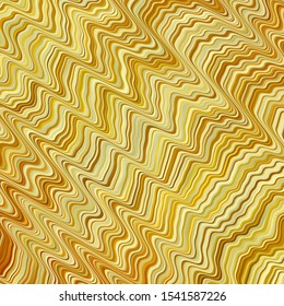 Light Orange vector template with lines. Bright sample with colorful bent lines, shapes. Pattern for ads, commercials.