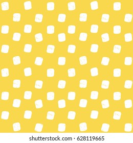 light painted color pattern of spots graphic textures on a yellow orange background