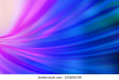 Light Pink, Blue vector abstract bright pattern. An elegant bright illustration with gradient. New style for your business design.