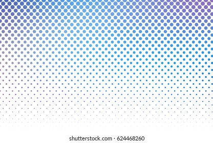 Light Pink, Blue vector abstract pattern with circles. Geometry template for your business design. Background with colored spheres.