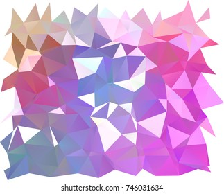 Light Pink, Blue vector abstract mosaic background. Creative illustration in halftone style with gradient. The textured pattern can be used for background.