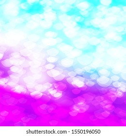Light Pink, Blue vector background with bubbles. Abstract illustration with colorful spots in nature style. Pattern for wallpapers, curtains.
