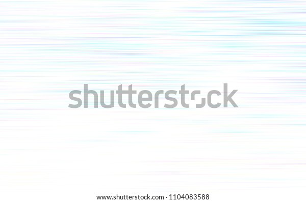 Light Pink, Blue vector cover with stright stripes. Lines on blurred abstract background with gradient. Smart design for your business advert.
