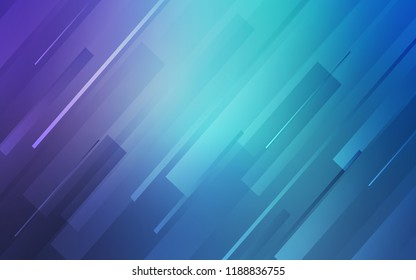 Light Pink, Blue vector pattern with sharp lines. Shining colored illustration with sharp stripes. Pattern for ads, posters, banners.
