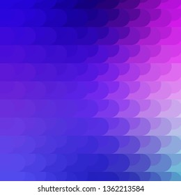 Light Pink, Blue vector template with lines. Colorful gradient illustration with abstract flat lines. Smart design for your promotions.