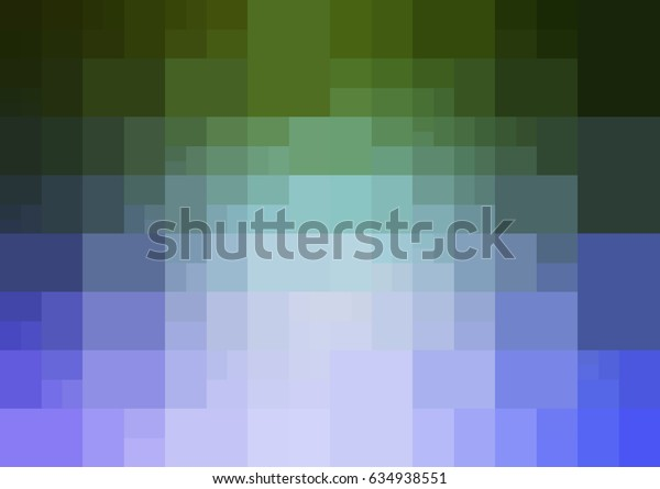 Light Pink, Green vector blurry rectangle background design. Geometric background in Origami style with gradient.