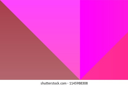 Light Pink, Green vector template with rainbow of colours. Decorative design of colorful palette. Smart set of colors for your work as a designer.