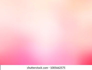 Light Pink vector blurred shine abstract background. Creative illustration in halftone style with gradient. The completely new template can be used for your brand book.
