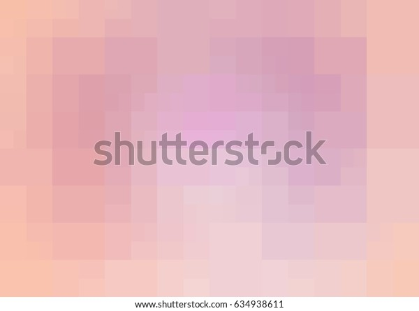 Light Pink vector blurry rectangle background design. Geometric background in Origami style with gradient.