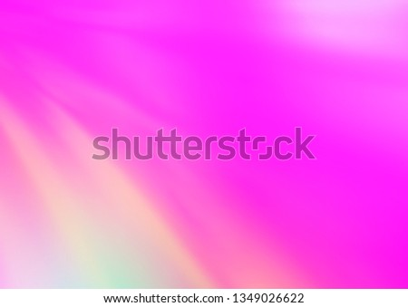 Light Pink Vector Bokeh Template Creative Stock Vector (Royalty Free