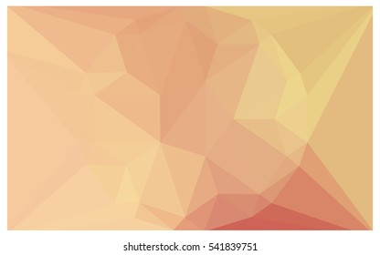 Light Pink Yellow abstract textured polygonal background. Vector blurry triangle design. Pattern can be used for background.