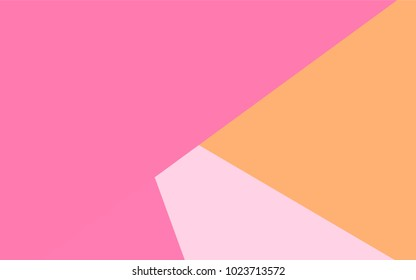 Light Pink, Yellow vector modern geometrical background. Abstract template. Geometric pattern in square style with gradient.