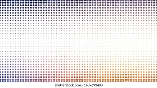Light Pink, Yellow vector  template with circles. Abstract illustration with colored bubbles in nature style. Pattern for textures of wallpapers.