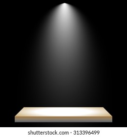 light and podium backgrounds